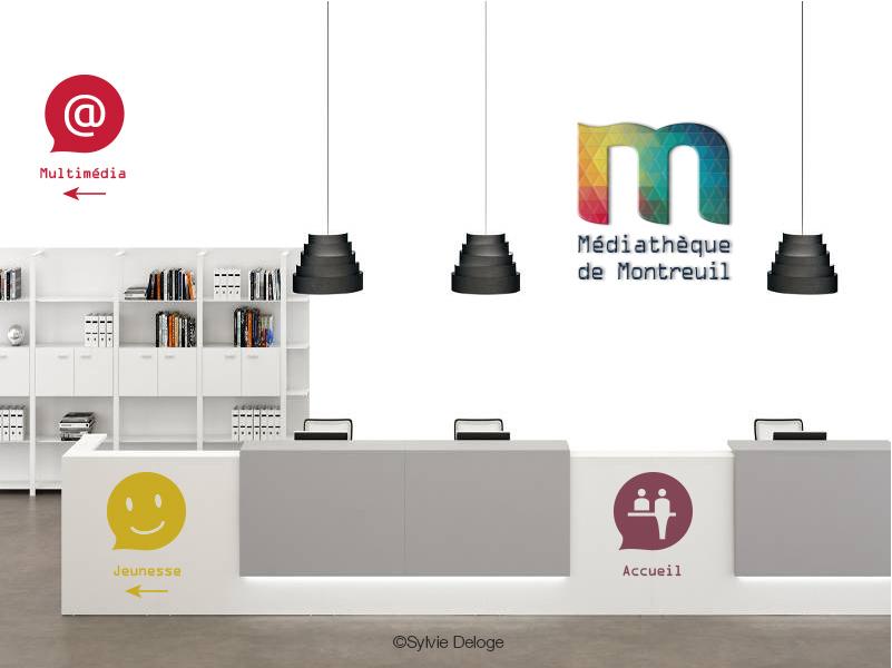 Accuiel Médiathèque de Montreuil
